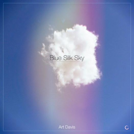 Blue Silk Sky Cover